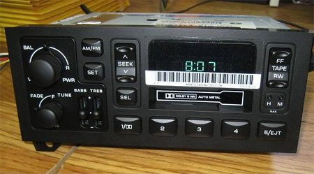 1990 01 Dodge Ram Dakota Spirit Caravan Radio Cette