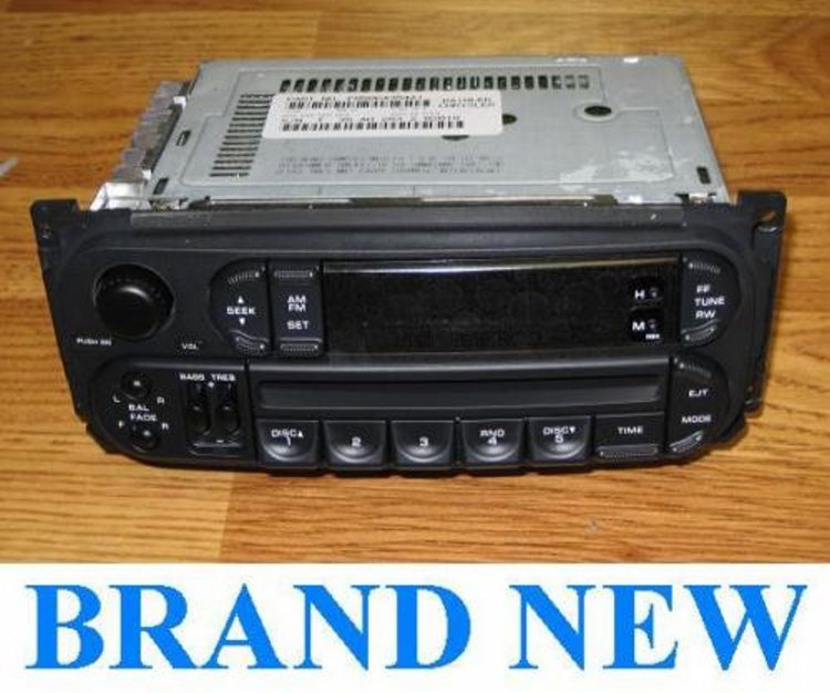 New 2002 06 Dodge Ram Durango Dakota Neon Cd Player Radio Jeep Wrangler Liberty