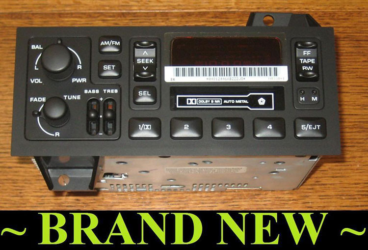 Oem Radios Vehicle Radio Electronic Original Replacement Parts Rhoemradios: 2007 Dodge Ram 1500 Factory Radio At Elf-jo.com