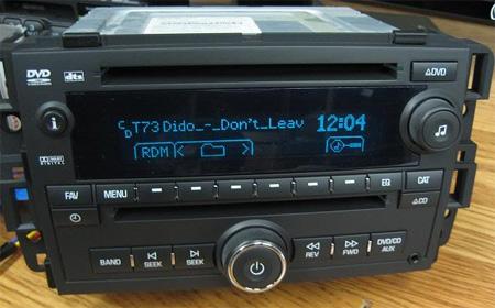 2007 10 Gm Chevy Tahoe Yukon Silverado Dvd Radio Cd Mp3