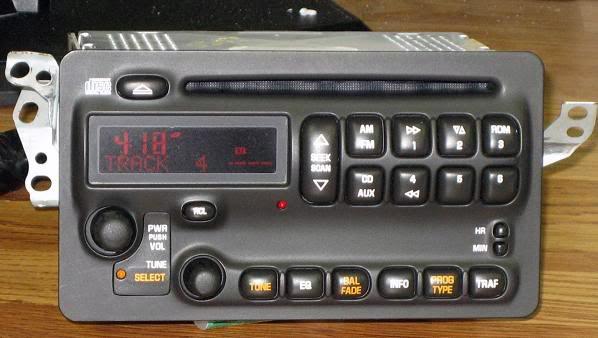 2003 toyota corolla radio aux input