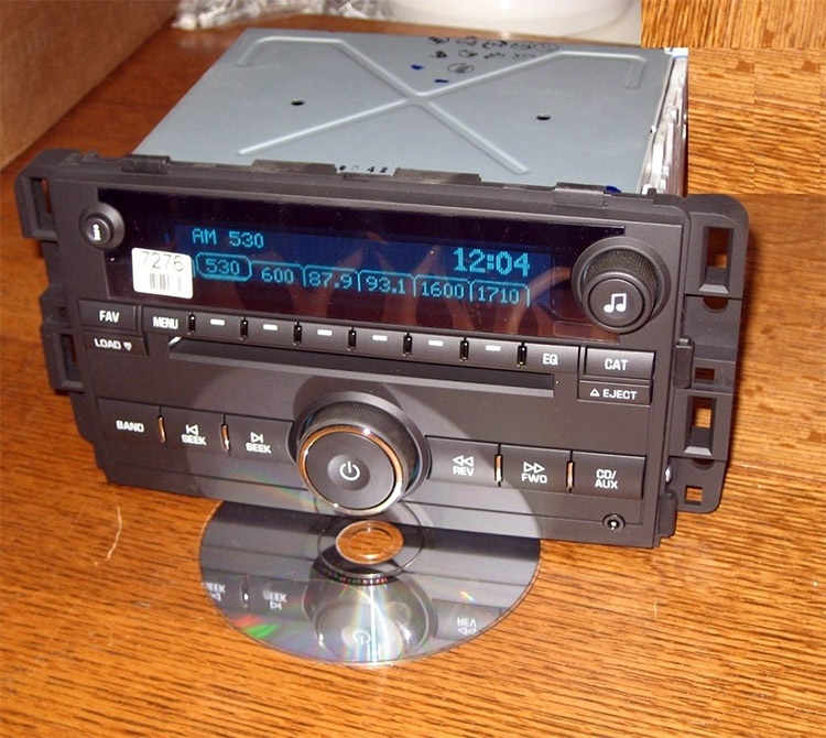 Unlocked Chevy Impala 6 Cd Changer Radio 3 5 Aux Ipod Mp3 Input Ltz Monte Carlo