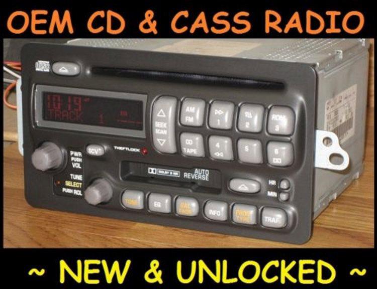 Oem Radios Vehicle Radio Electronic Original Replacement Parts Rhoemradios: 2001 Buick Monsoon Radio In Car At Elf-jo.com