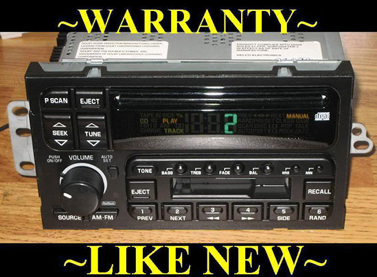 Delco radio cd player wiring