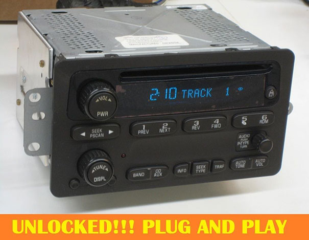 2000 silverado radio knobs